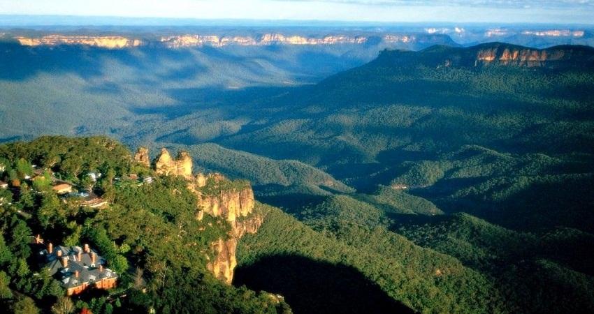 Голубые горы фото